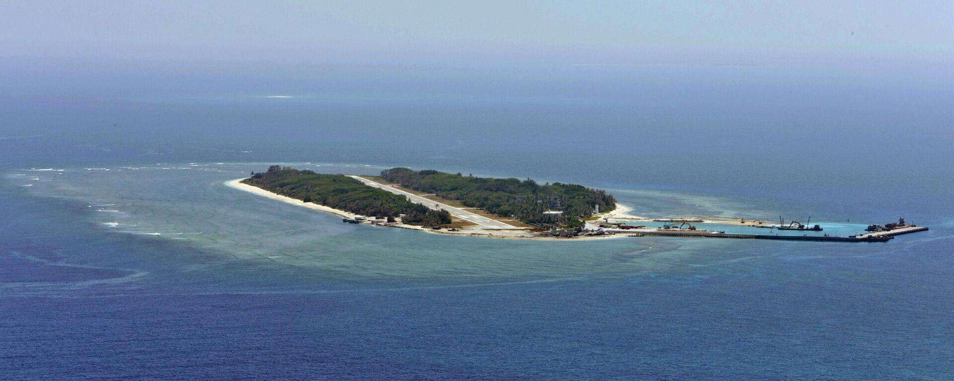 La isla Itu Aba en el mar de China Meridional - Sputnik Mundo, 1920, 12.05.2021