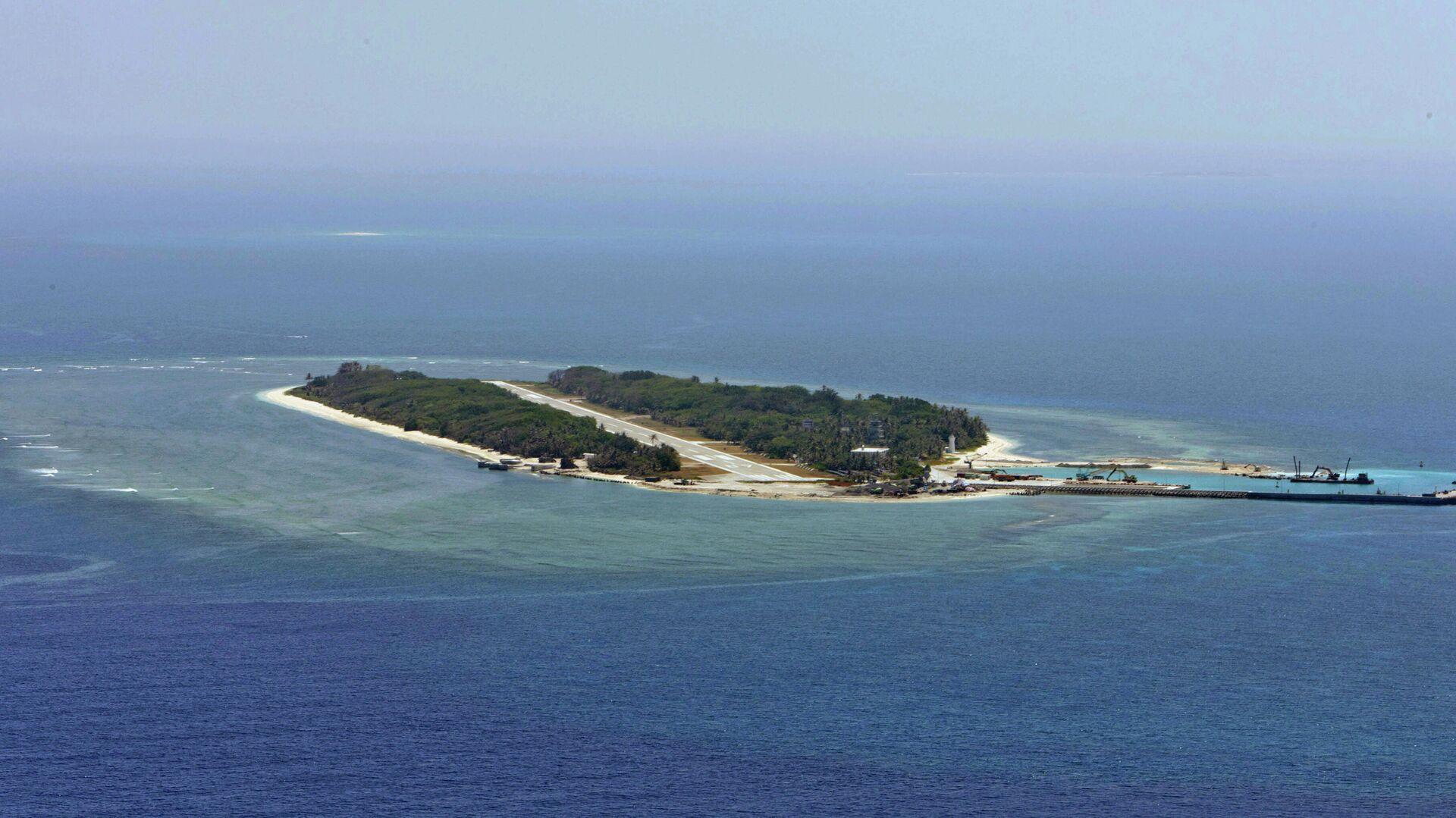 La isla Itu Aba en el mar de la China Meridional - Sputnik Mundo, 1920, 12.05.2021