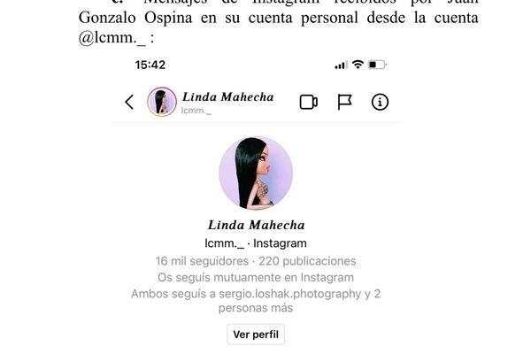 Captura de pantalla de intento de usurpación de identidad a través de internet - Sputnik Mundo