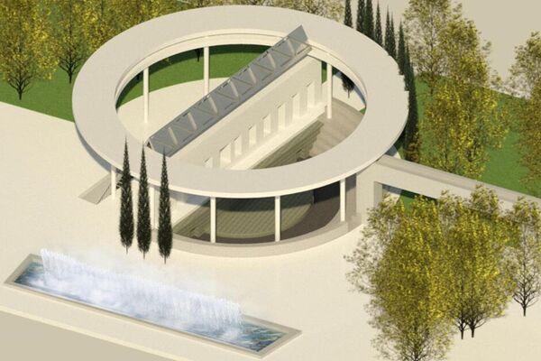 Plano general del anfiteatro de Cartuja Qanat - Sputnik Mundo
