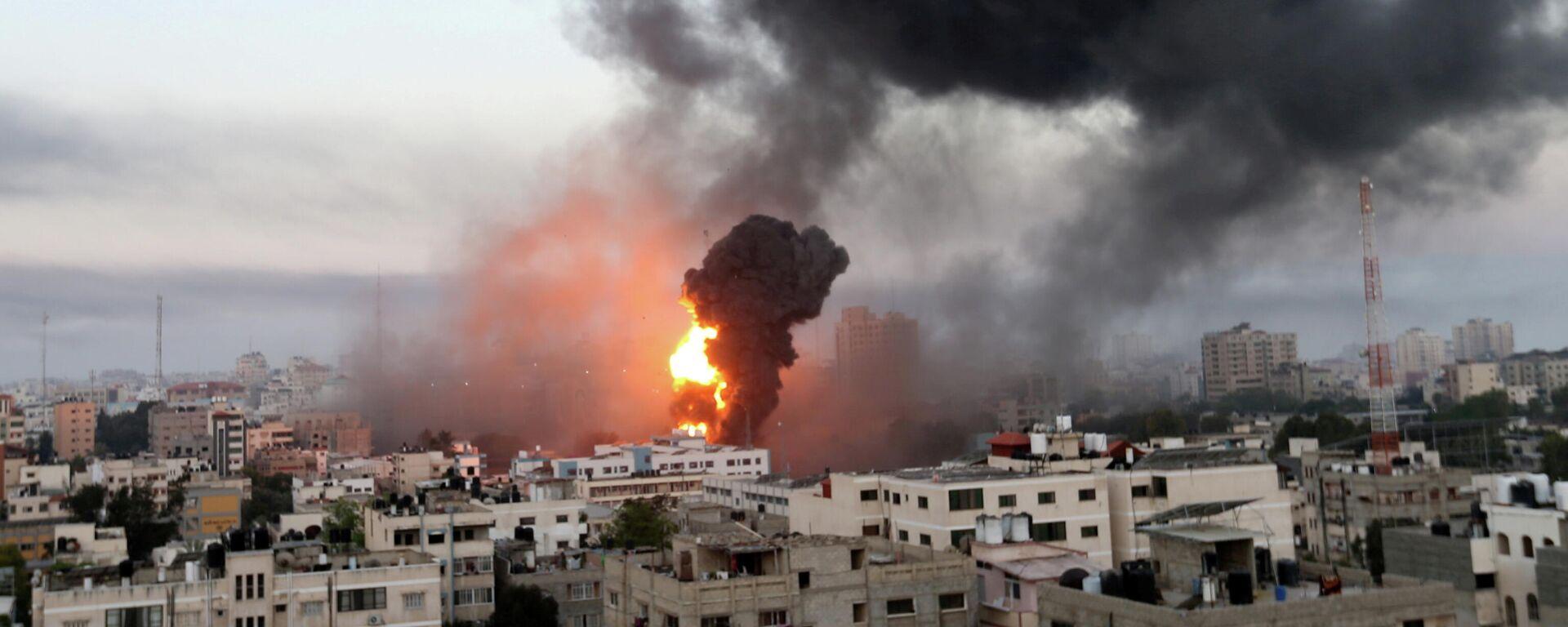 Consecuencias del ataque israelí a Gaza - Sputnik Mundo, 1920, 12.05.2021