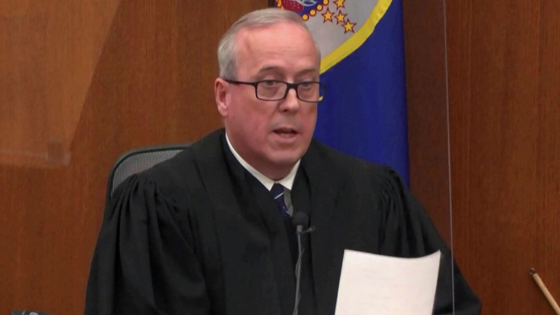 El juez de Minesota, EEUU, Peter Cahill - Sputnik Mundo, 1920, 12.05.2021