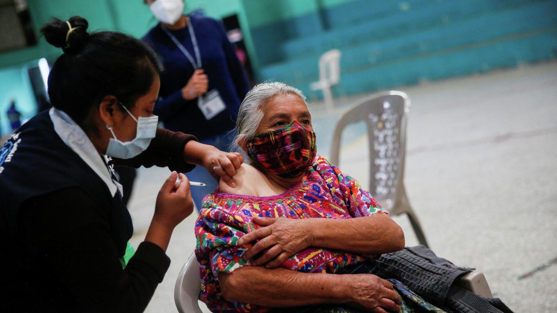 Vacunación anti-COVID en Guatemala - Sputnik Mundo, 1920, 12.05.2021