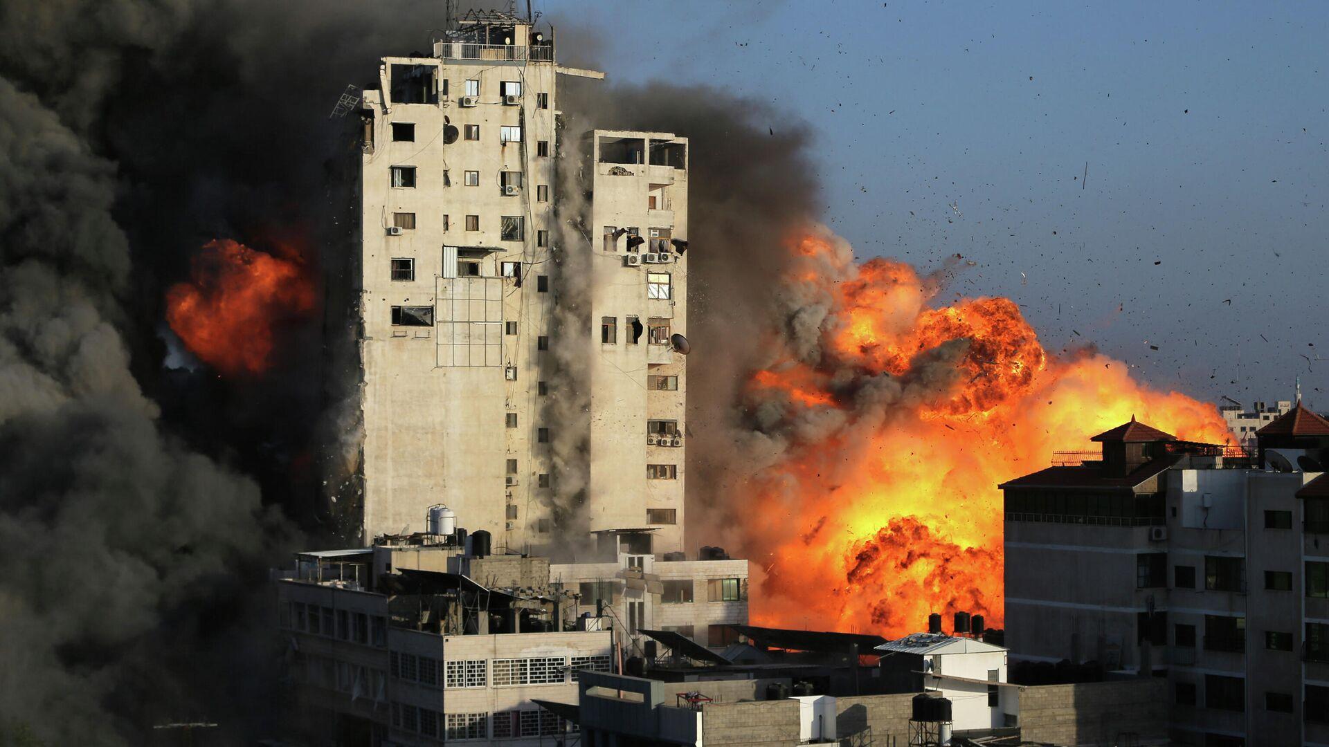 Bombardeo de Gaza por parte de Israel - Sputnik Mundo, 1920, 12.05.2021