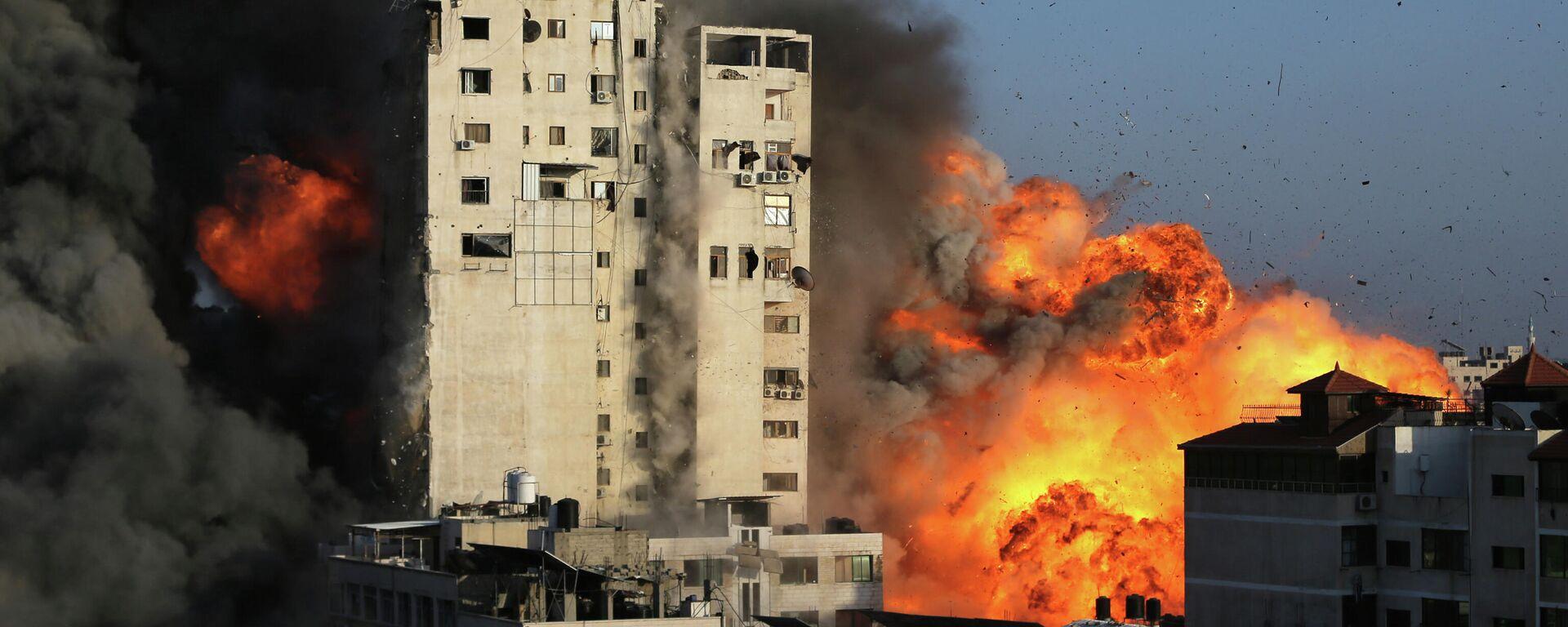 Bombardeo de Gaza por parte de Israel - Sputnik Mundo, 1920, 17.05.2021