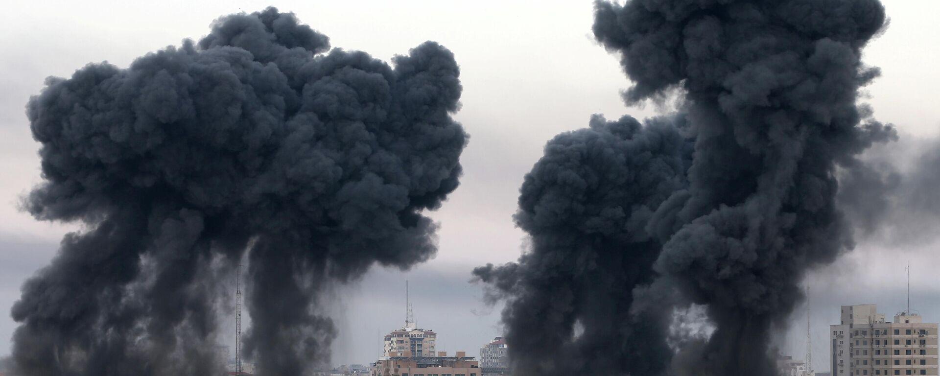 Israel bombardea la Franja de Gaza - Sputnik Mundo, 1920, 16.05.2021