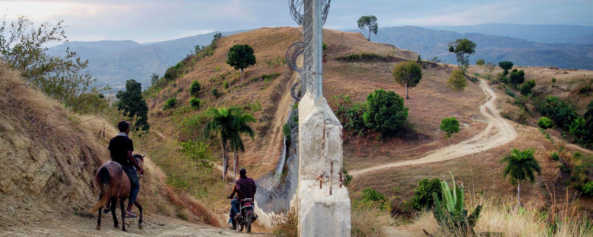 Valla fronteriza entre la República Domenicana y Haití - Sputnik Mundo, 1920, 12.05.2021