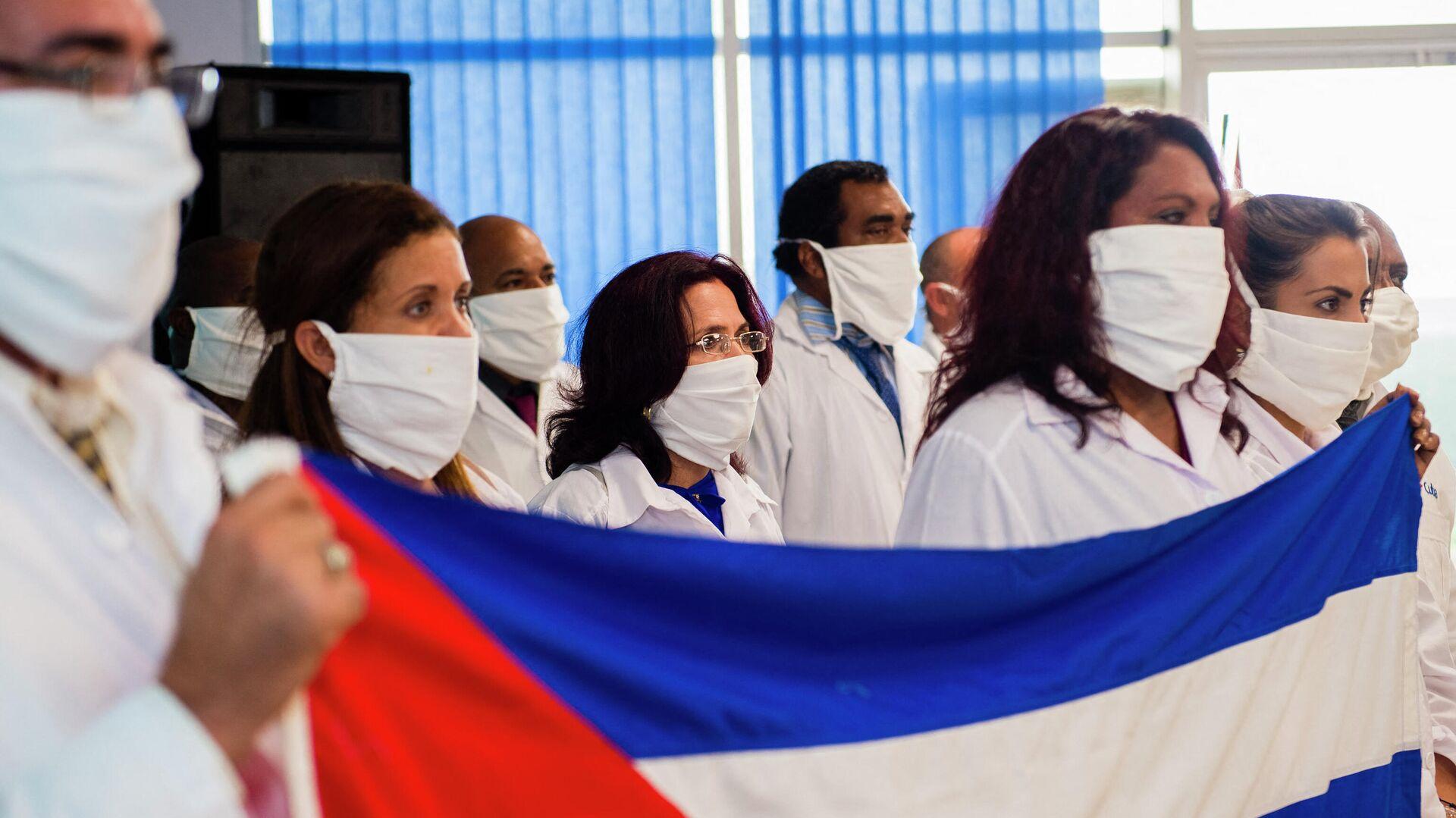 Médicos cubanos en Martinica - Sputnik Mundo, 1920, 12.05.2021