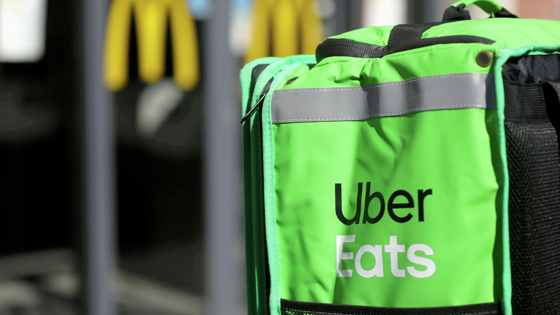 Servicio de 'delivery' de Uber Eats - Sputnik Mundo, 1920, 12.05.2021