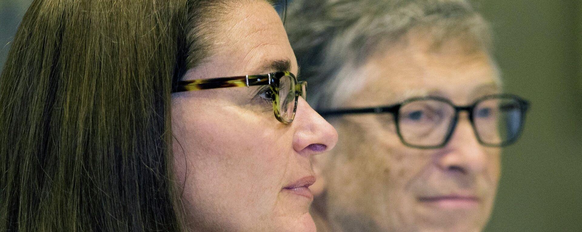 Bill y Melinda Gates en 2015 - Sputnik Mundo, 1920, 13.05.2021