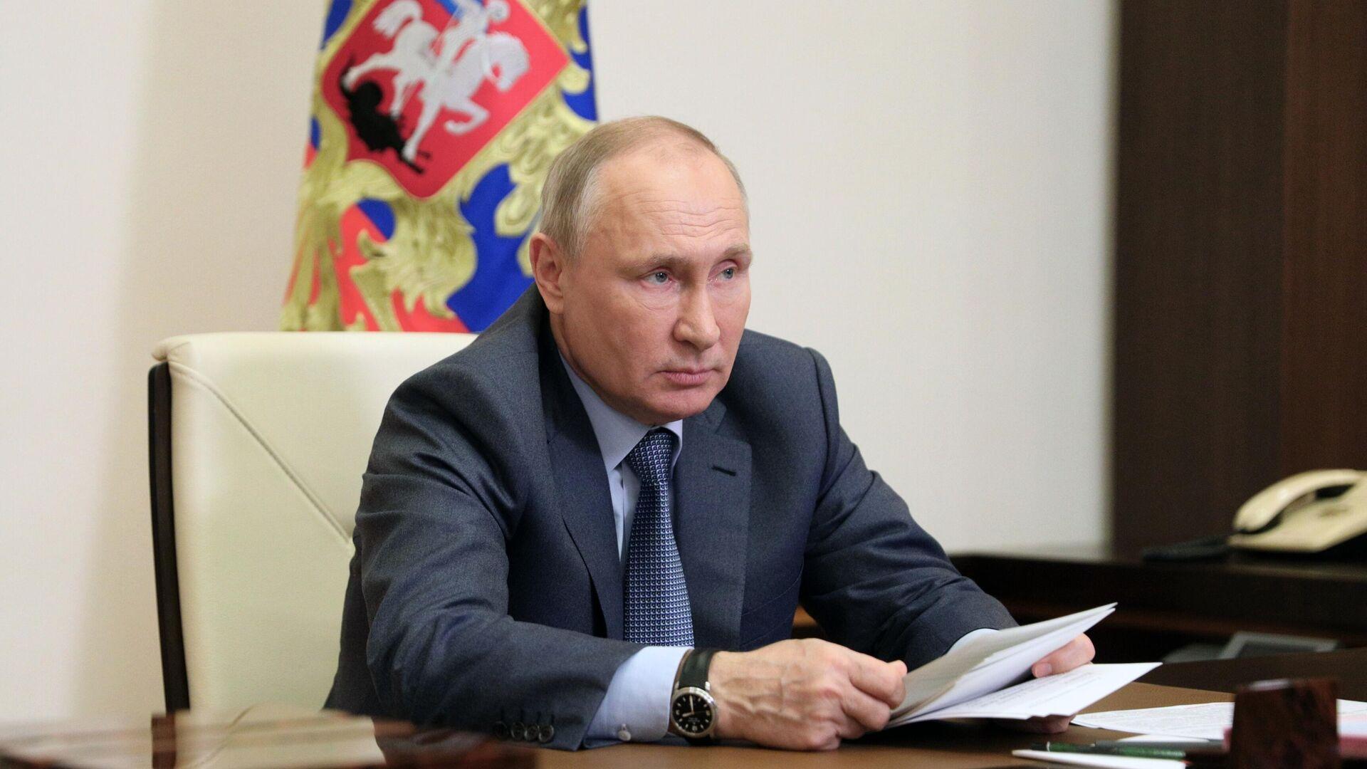 El presidente de Rusia, Vladímir Putin - Sputnik Mundo, 1920, 13.05.2021