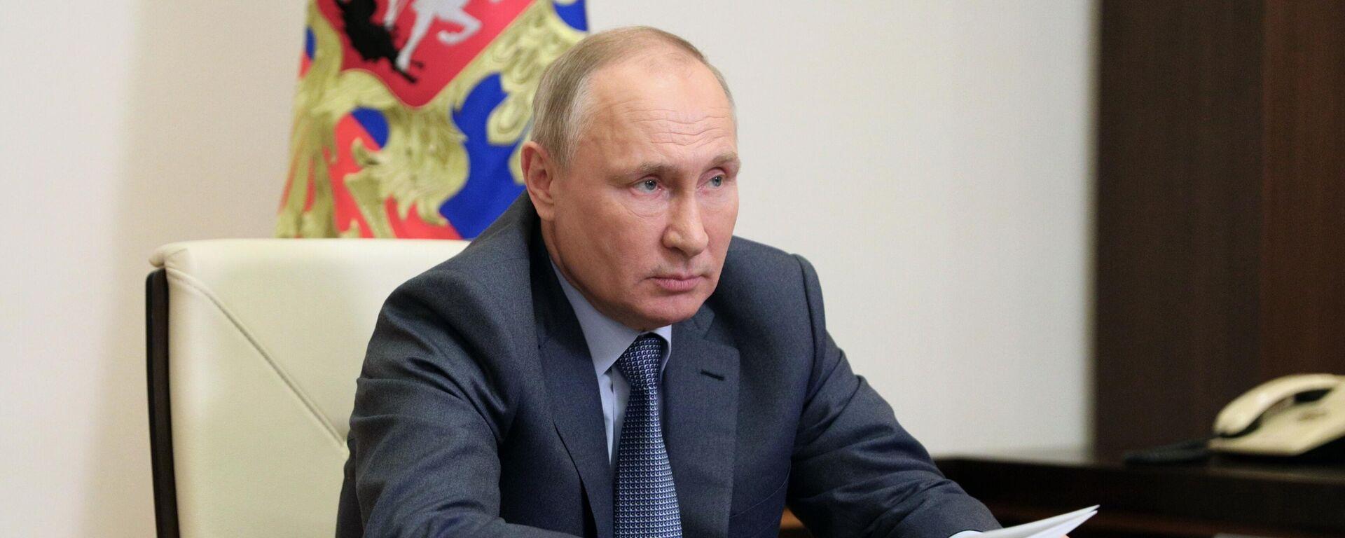 El presidente de Rusia, Vladímir Putin - Sputnik Mundo, 1920, 09.06.2021