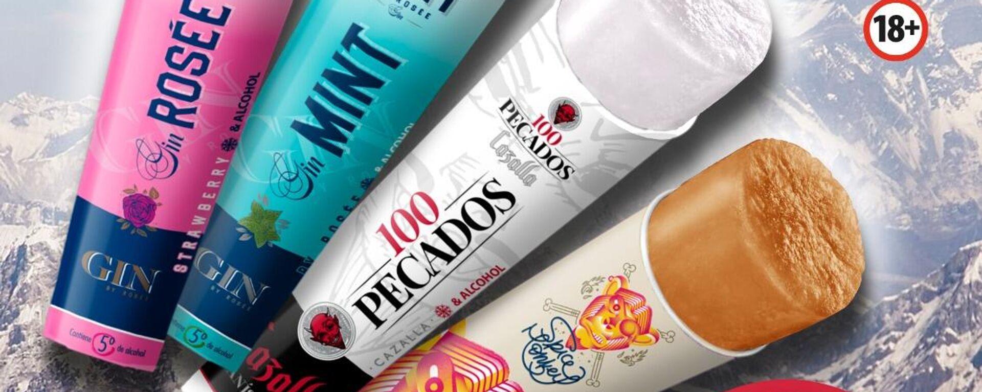 Nuevos sorbetes con alcohol 'made in Spain' - Sputnik Mundo, 1920, 13.05.2021