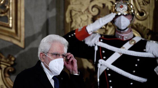 Sergio Mattarella, presidente de Italia - Sputnik Mundo