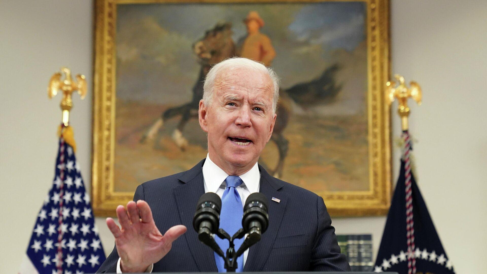 El presidente de Estados Unidos, Joe Biden - Sputnik Mundo, 1920, 11.06.2021