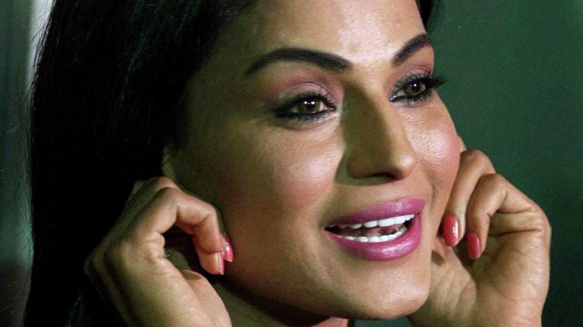 La actriz y modelo paquistaní Veena Malik - Sputnik Mundo, 1920, 13.05.2021