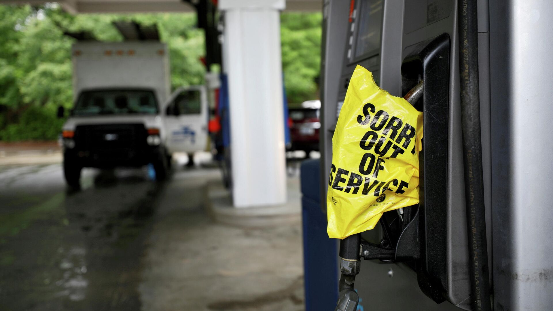 Gasolinera sin gasolina en Chapel Hill, EEUU - Sputnik Mundo, 1920, 13.05.2021