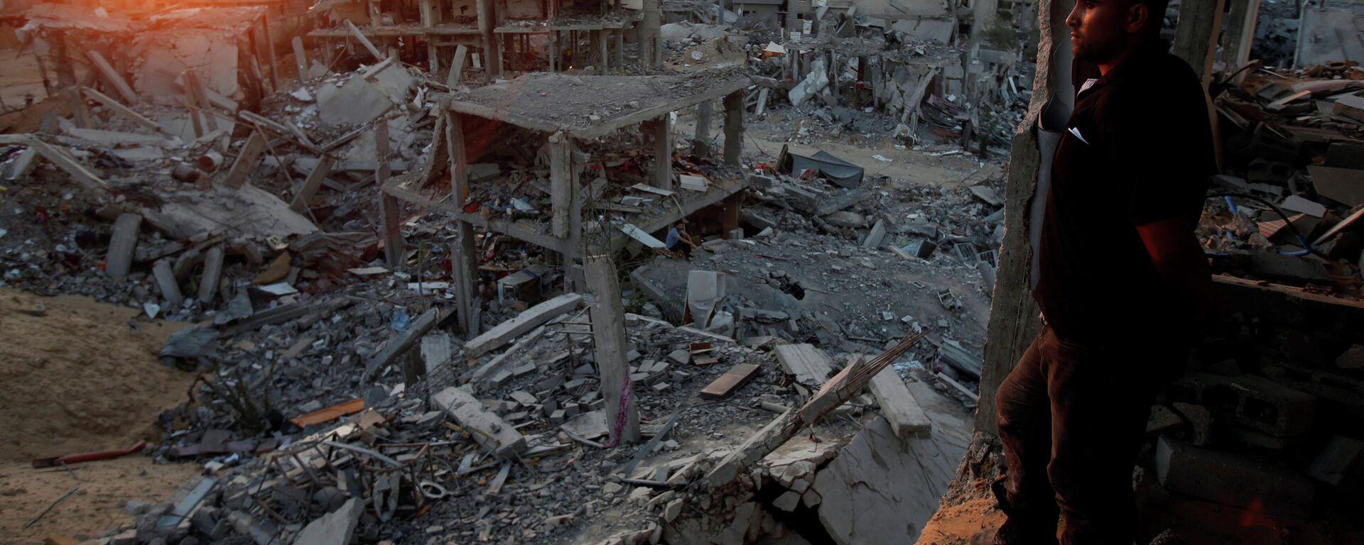 Situación en la Franja de Gaza - Sputnik Mundo, 1920, 14.05.2021