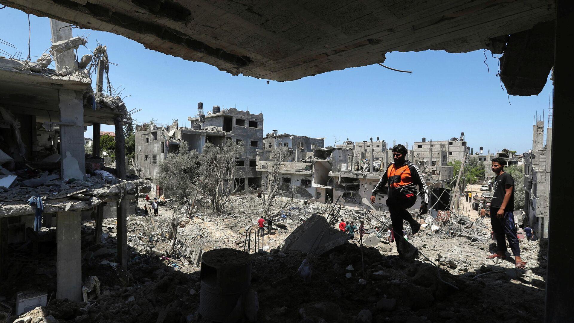 Situación en Gaza - Sputnik Mundo, 1920, 14.05.2021