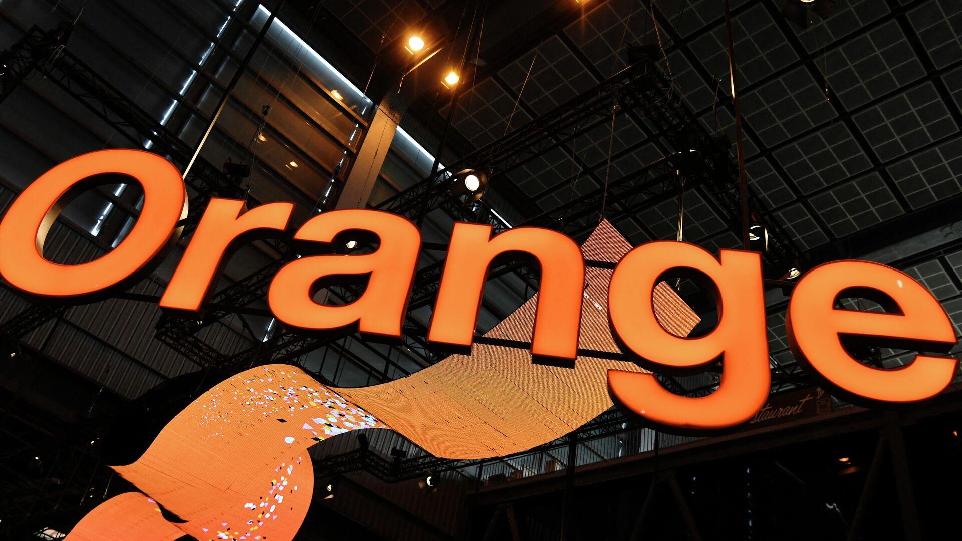El logo de la empresa de telecomunicaciones Orange - Sputnik Mundo, 1920, 14.05.2021
