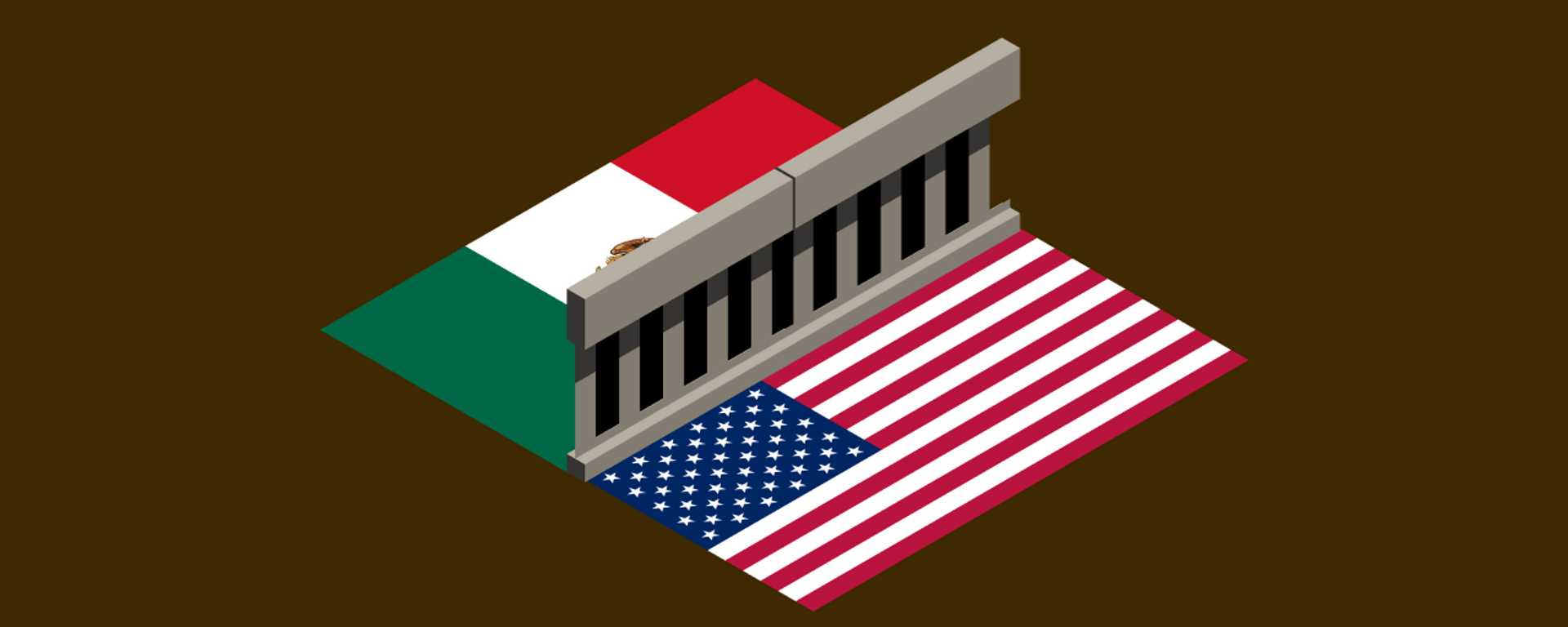 El muro fronterizo entre EEUU y México, la línea que separa dos mundos - Sputnik Mundo, 1920, 15.05.2021