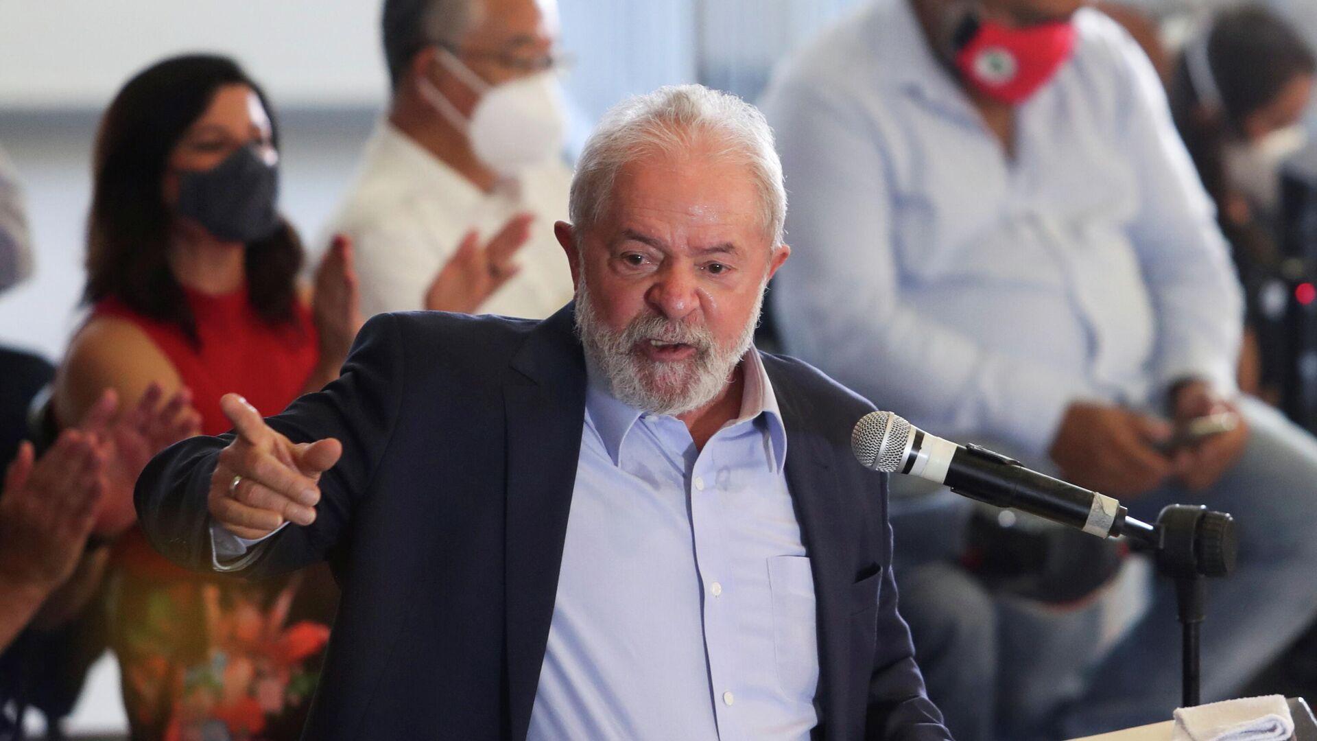 Luiz Inácio Lula da Silva, expresidente de Brasil - Sputnik Mundo, 1920, 10.06.2021