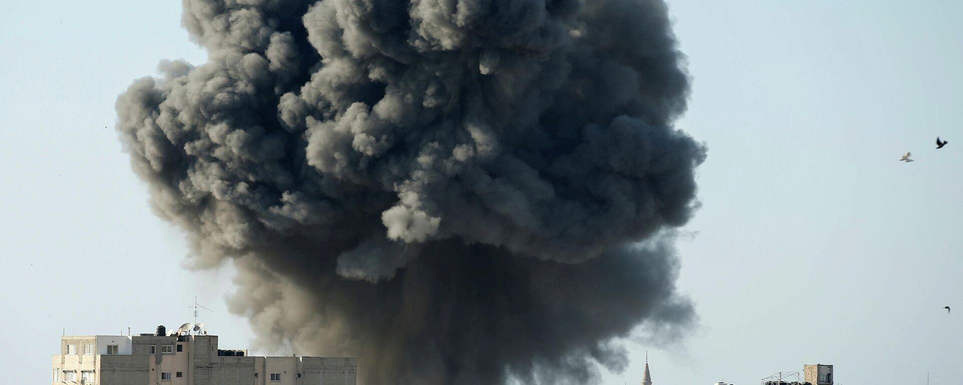 Explosión en la Franja de Gaza - Sputnik Mundo, 1920, 14.05.2021