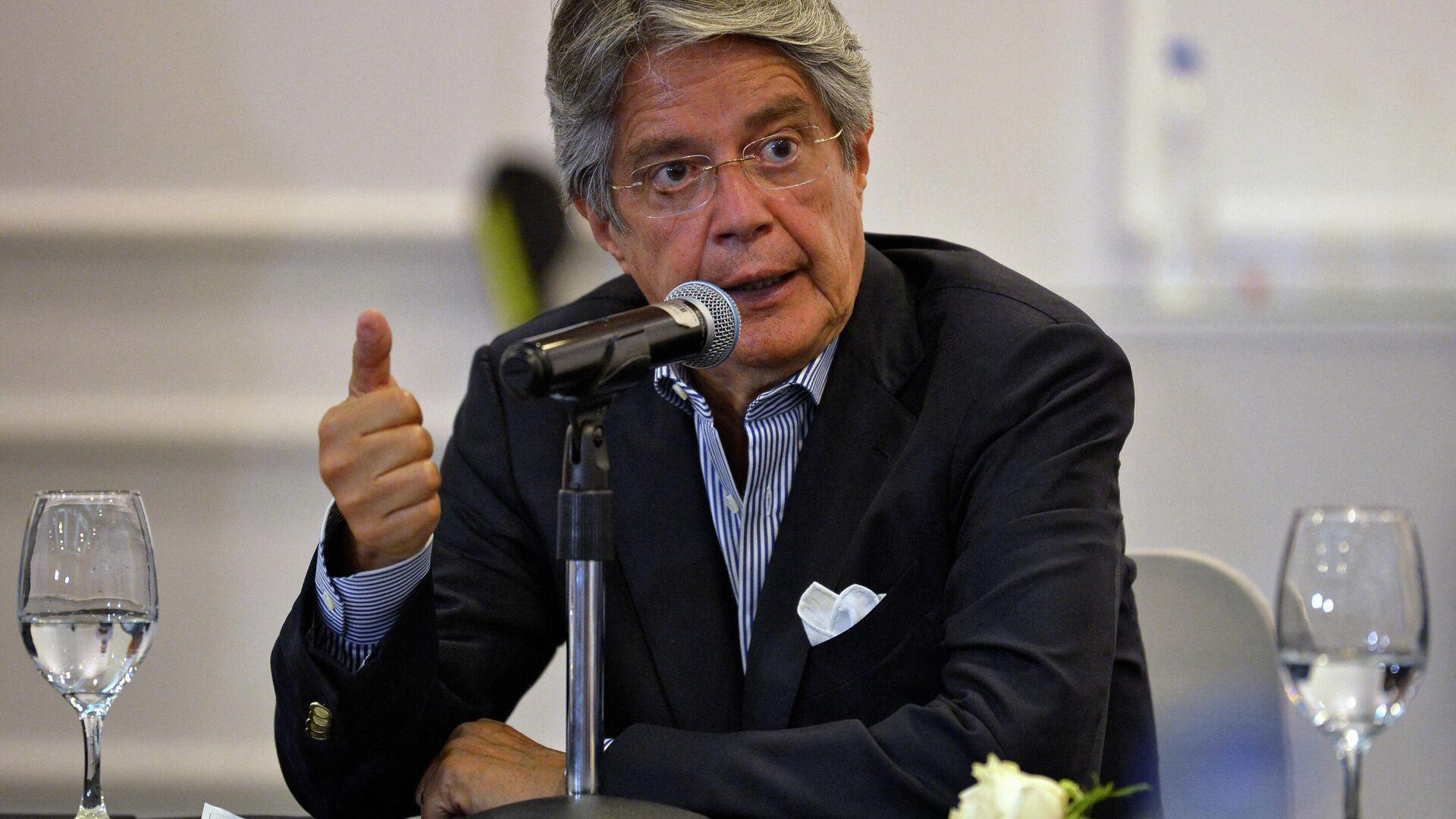 Guillermo Lasso, presidente electo de Ecuador - Sputnik Mundo, 1920, 27.05.2021