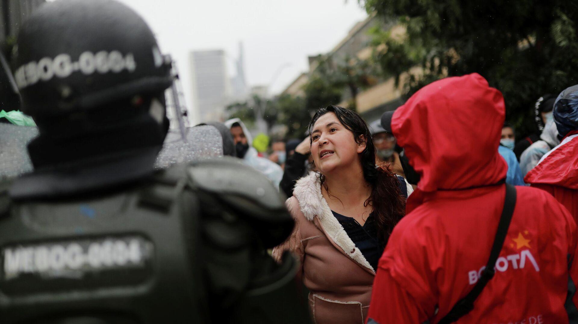 Protestas en Bogotá, Colombia - Sputnik Mundo, 1920, 20.05.2021