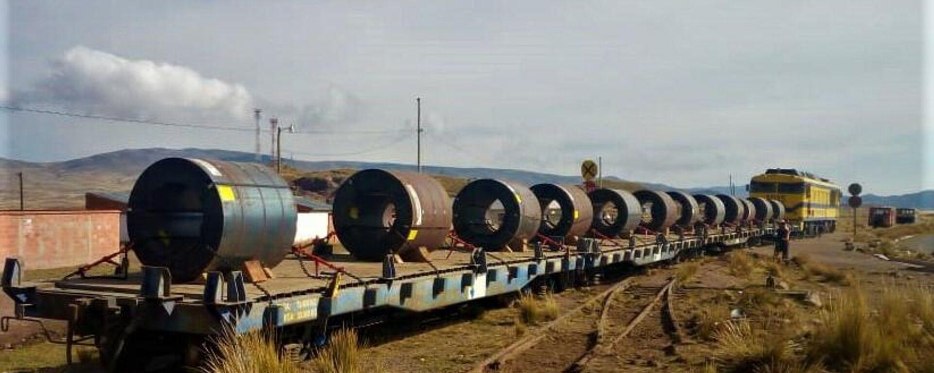 El ferrocarril Arica-La Paz que uniría Chile con Bolivia - Sputnik Mundo, 1920, 15.05.2021