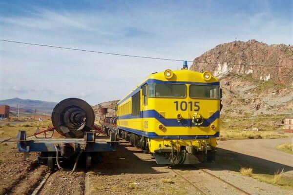 El tren de la Ferroviaria Andina - Sputnik Mundo