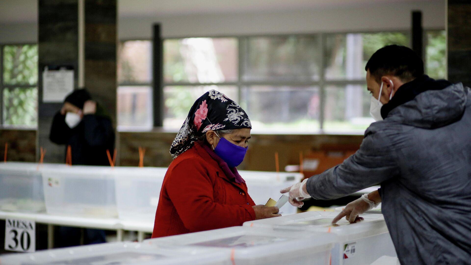 Elecciones en Chile - Sputnik Mundo, 1920, 15.05.2021