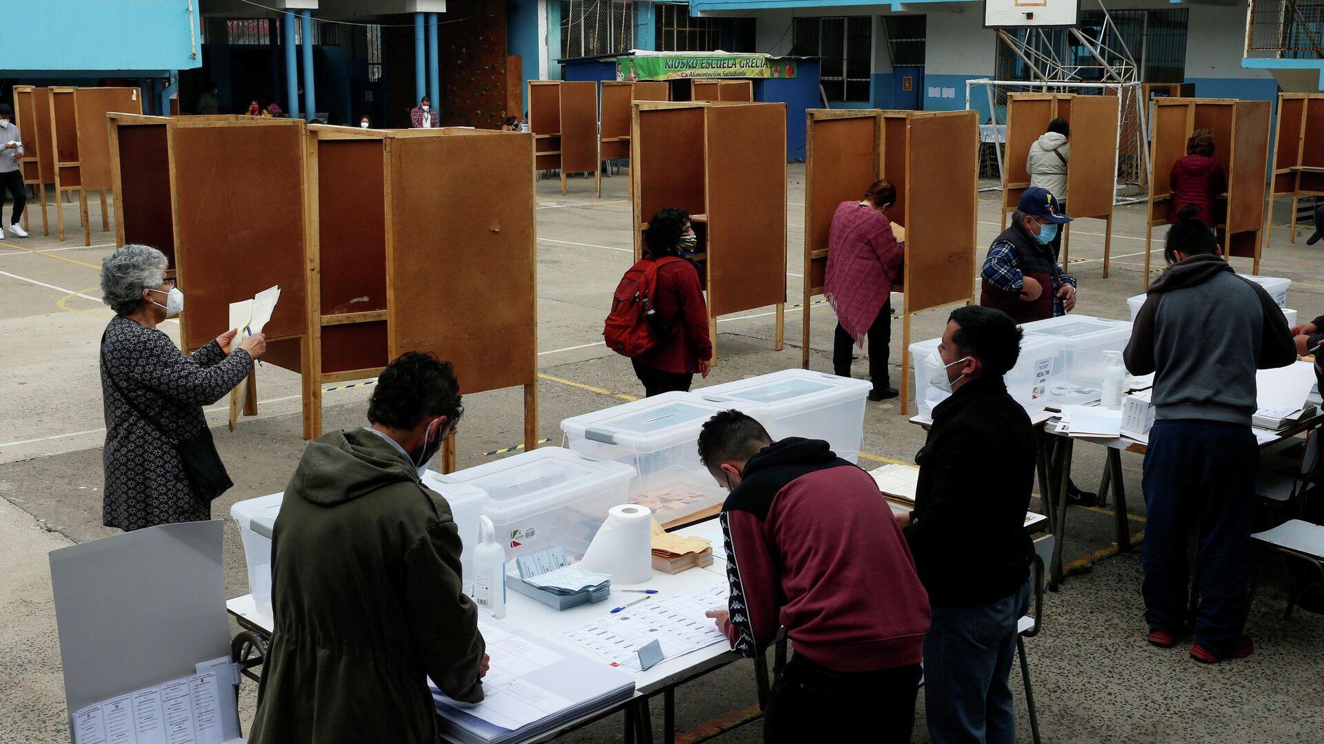 Elecciones en Valparaíso, Chile - Sputnik Mundo, 1920, 17.05.2021