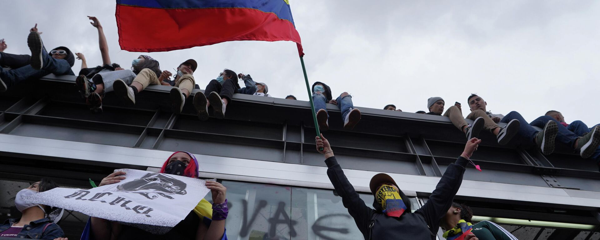 Protestas en Bogotá, Colombia - Sputnik Mundo, 1920, 15.05.2021