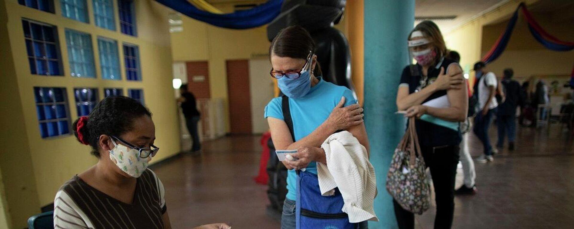 La vacunación en Venezuela - Sputnik Mundo, 1920, 16.05.2021