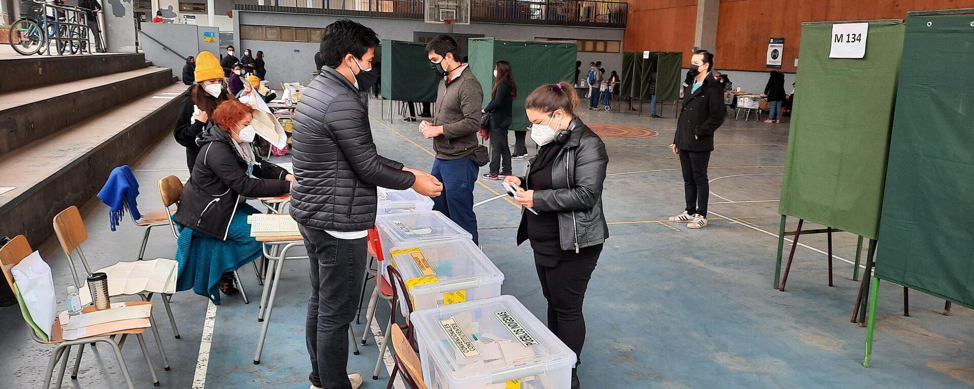 Elecciones en Chile - Sputnik Mundo, 1920, 24.06.2021