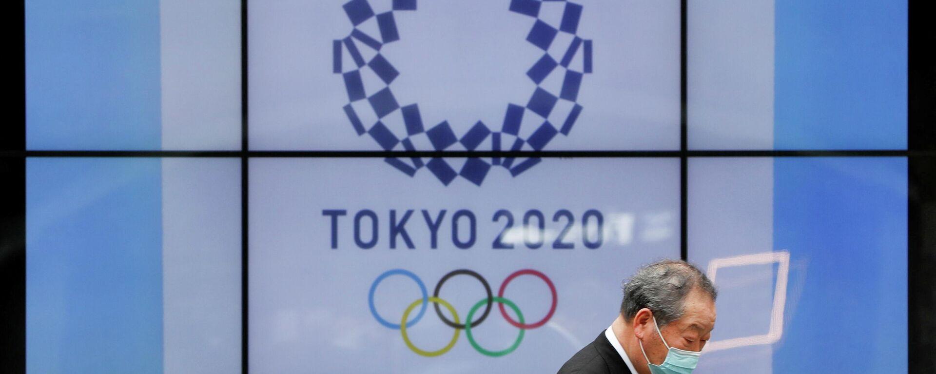 Logo de los Juegos Olímpicos y Paralímpicos de Tokio - Sputnik Mundo, 1920, 09.06.2021