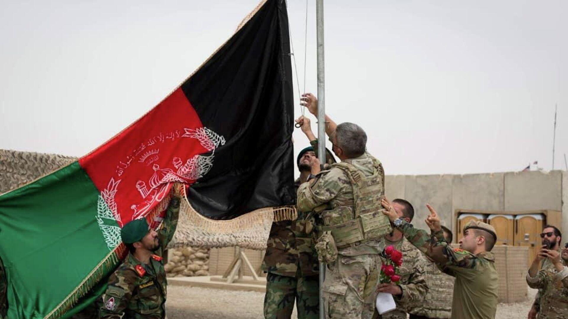 Militares afganos - Sputnik Mundo, 1920, 17.05.2021