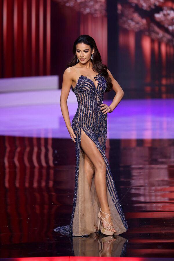Julia Gama, representante de Brasil, obtuvo el segundo lugar en el concurso de belleza Miss Universo 2021. - Sputnik Mundo