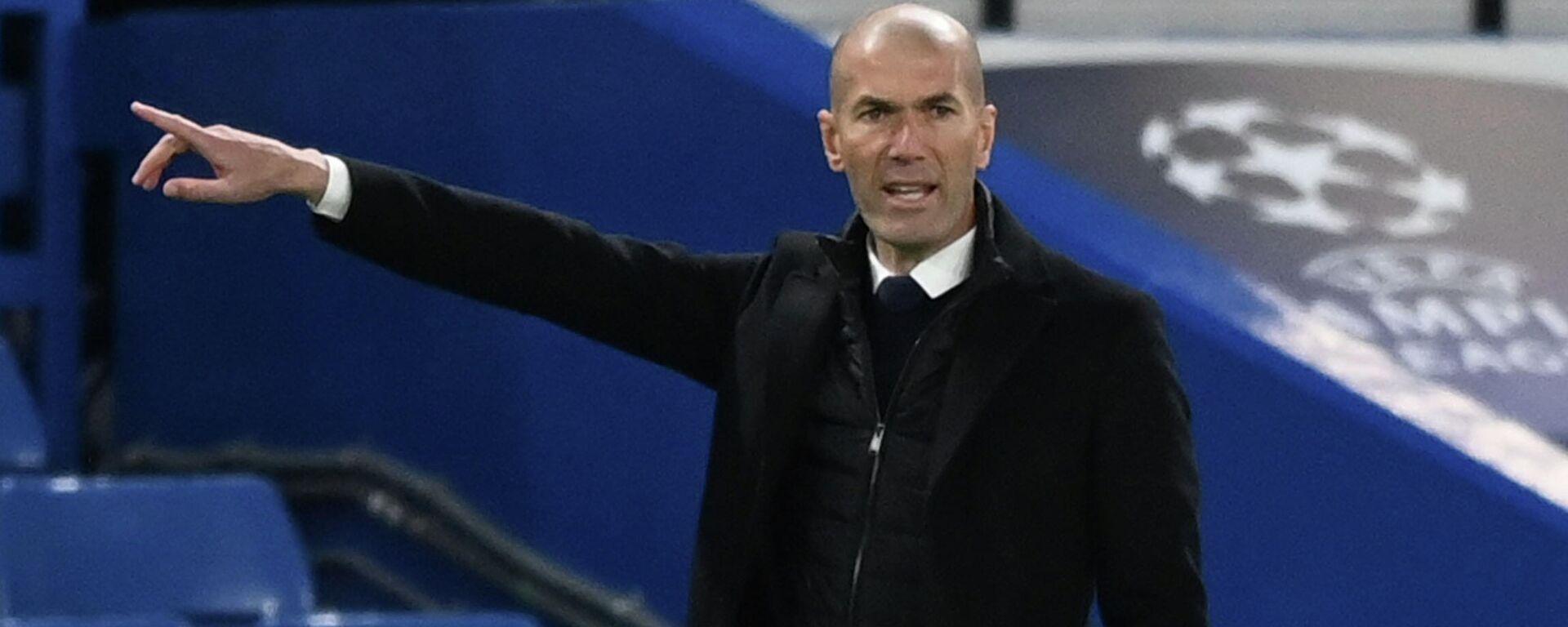 Zinedine Zidane - Sputnik Mundo, 1920, 17.05.2021