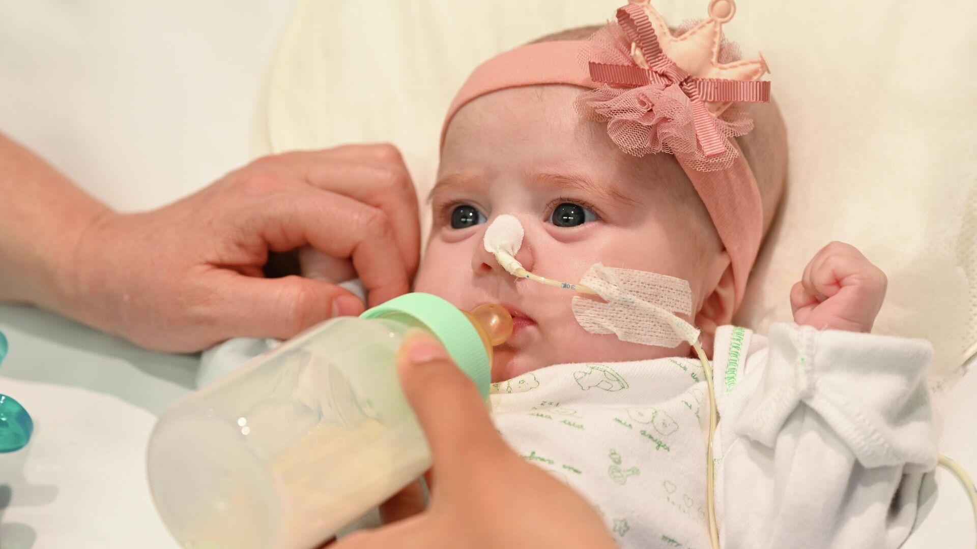 Naiara, primera bebé en recibir un transplante de corazón con distinto grupo sanguíneo - Sputnik Mundo, 1920, 17.05.2021