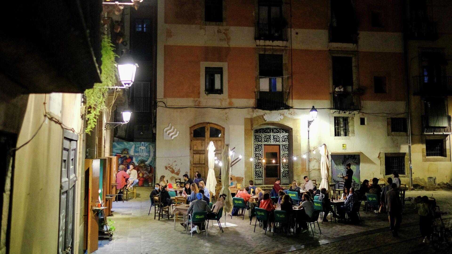 Un restaurante en Barcelona - Sputnik Mundo, 1920, 17.05.2021