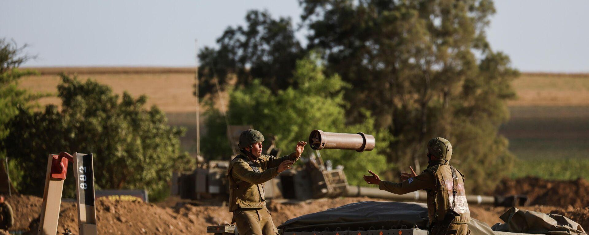 Militares israelíes - Sputnik Mundo, 1920, 17.05.2021