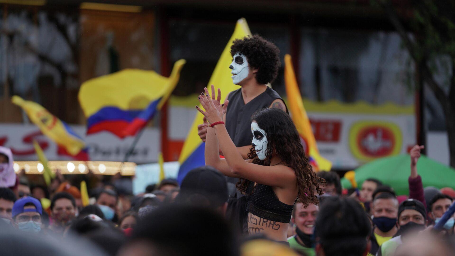 Protestas en Colombia - Sputnik Mundo, 1920, 17.05.2021