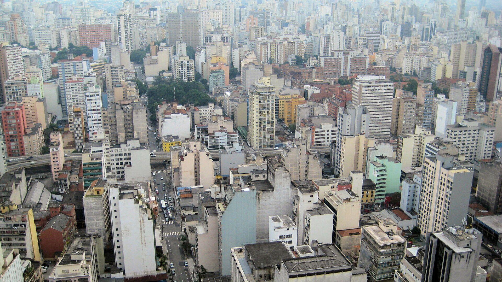 Vista de la ciudad de Sao Paulo, Brasil - Sputnik Mundo, 1920, 17.05.2021