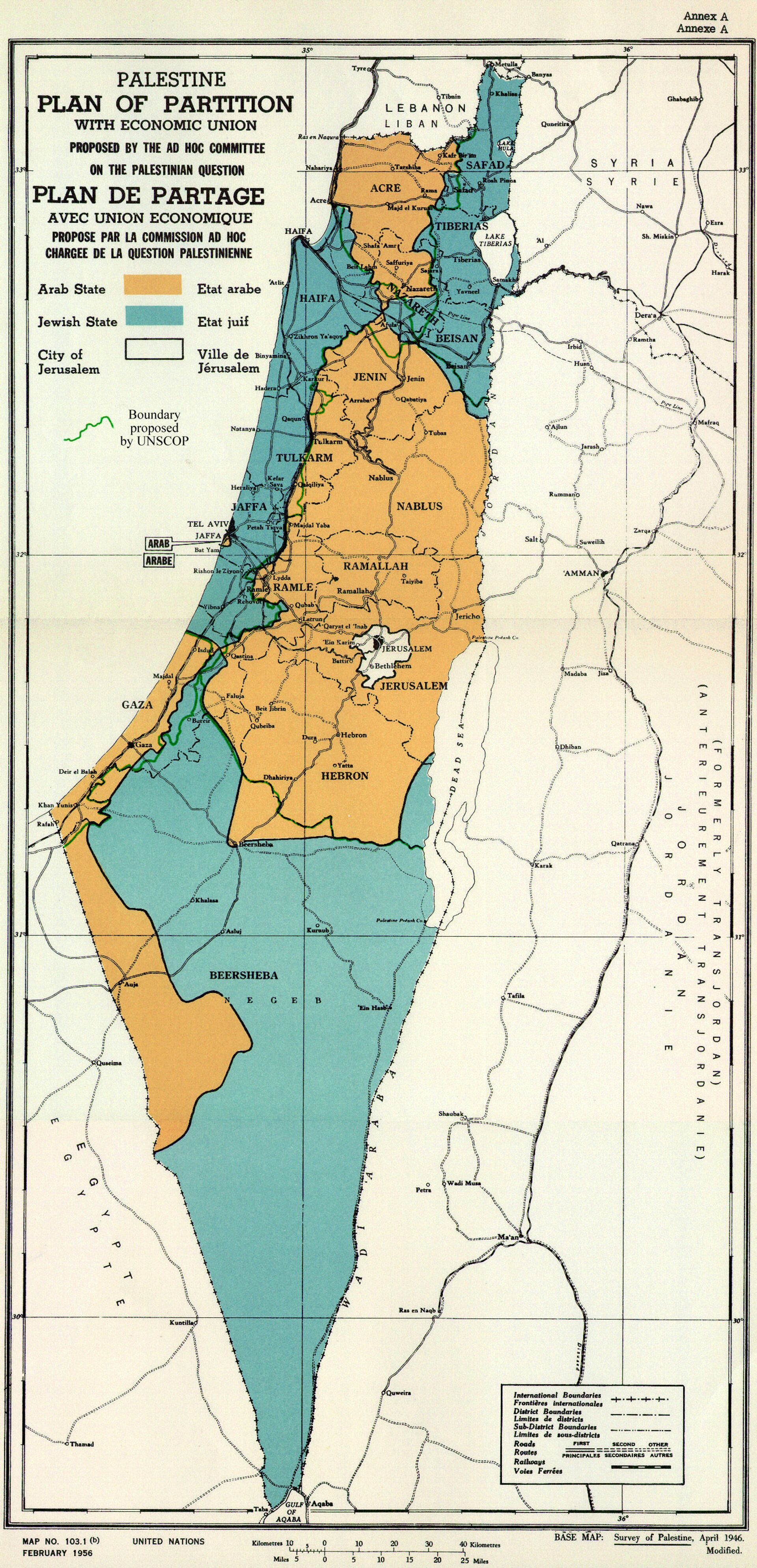 Plan de las Naciones Unidas para la partición de Palestina - Sputnik Mundo, 1920, 18.05.2021