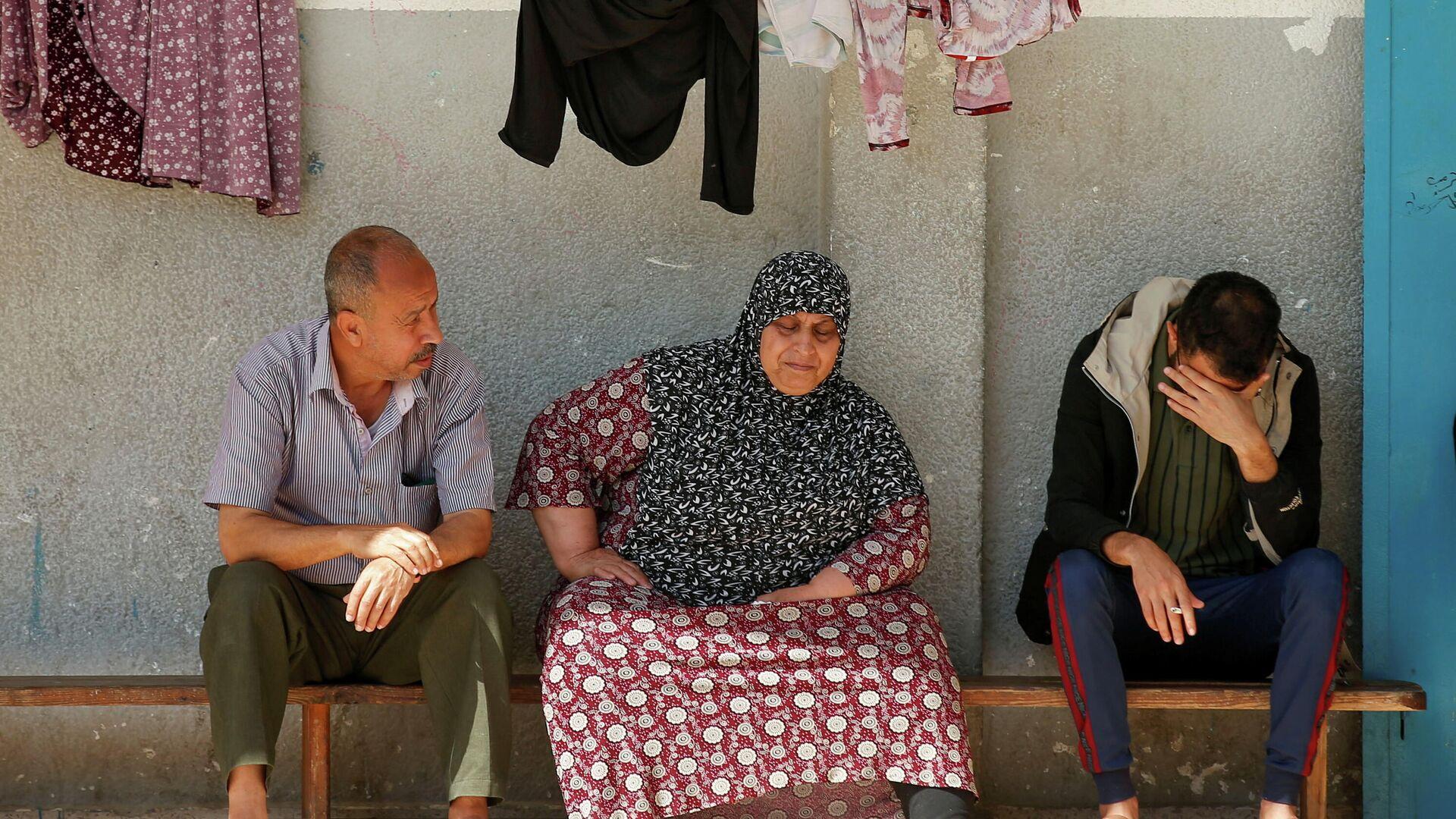 Habitantes de Gaza - Sputnik Mundo, 1920, 18.05.2021