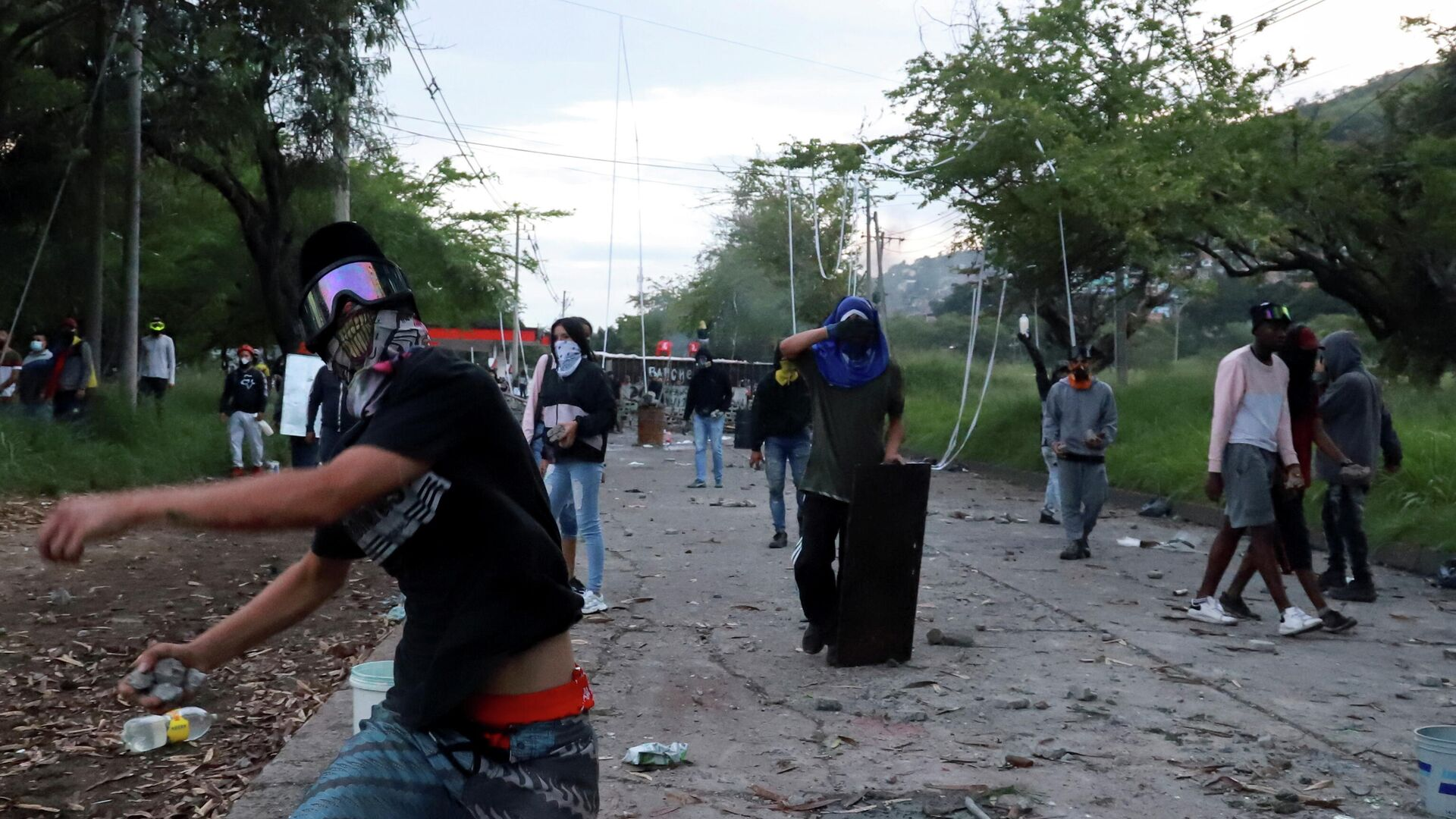 Protestas en Colombia - Sputnik Mundo, 1920, 18.05.2021