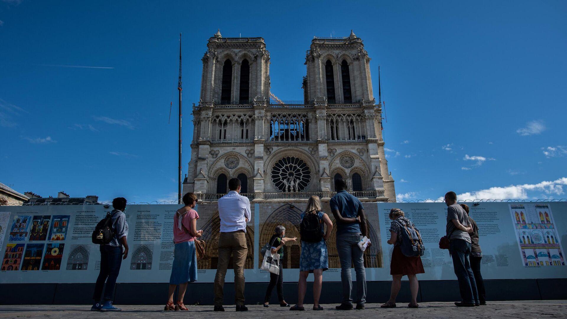 Catedral de Notre Dame en París, Francia - Sputnik Mundo, 1920, 18.05.2021
