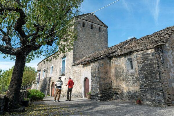 Arcusa (Huesca), uno de los pueblos visitados durante la grabación del documental 'Bienviajar' - Sputnik Mundo